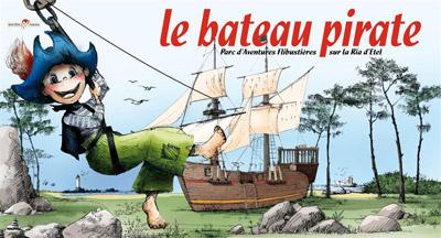 logo bateau pirate