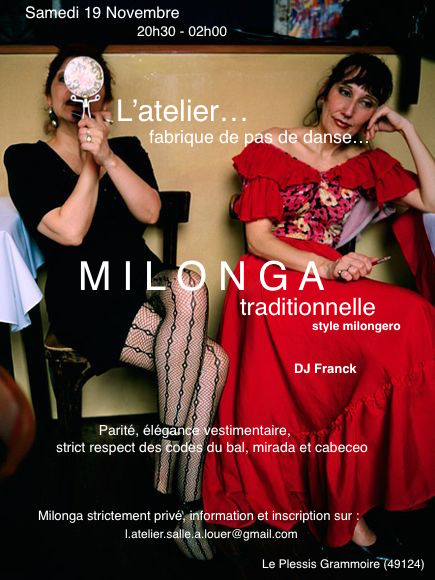 angers milonga atelier tango ouest