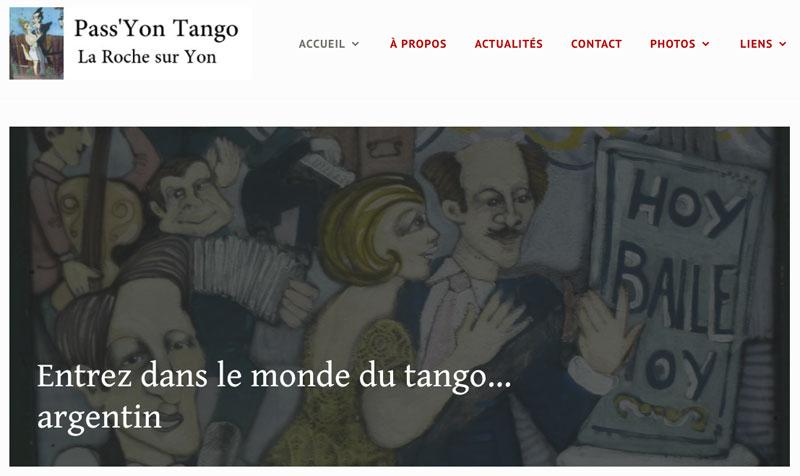 passyon tango nouveau site