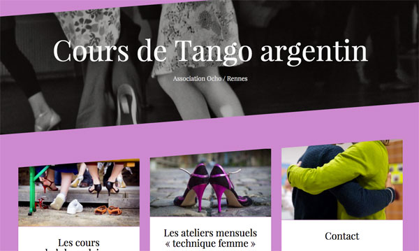 tango rennes agenda ouest