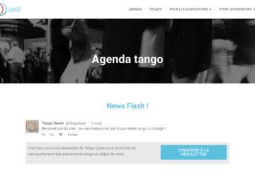 nouveau webdesign tango ouest milonga